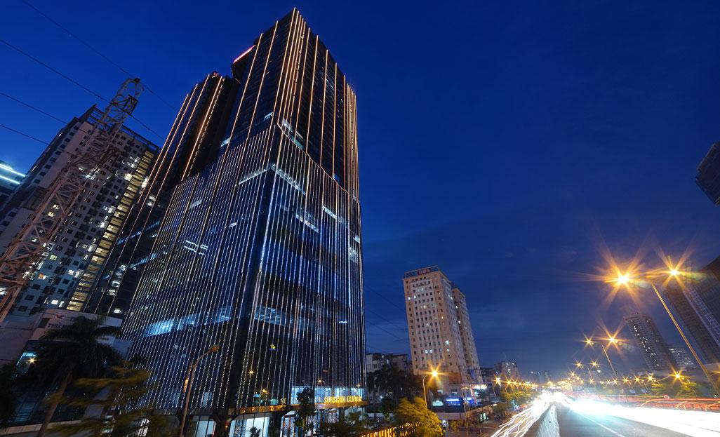 Sunshine Homes góp phần thay đổi diện mạo đô thị Hà Nội bằng ánh sáng và công nghệ