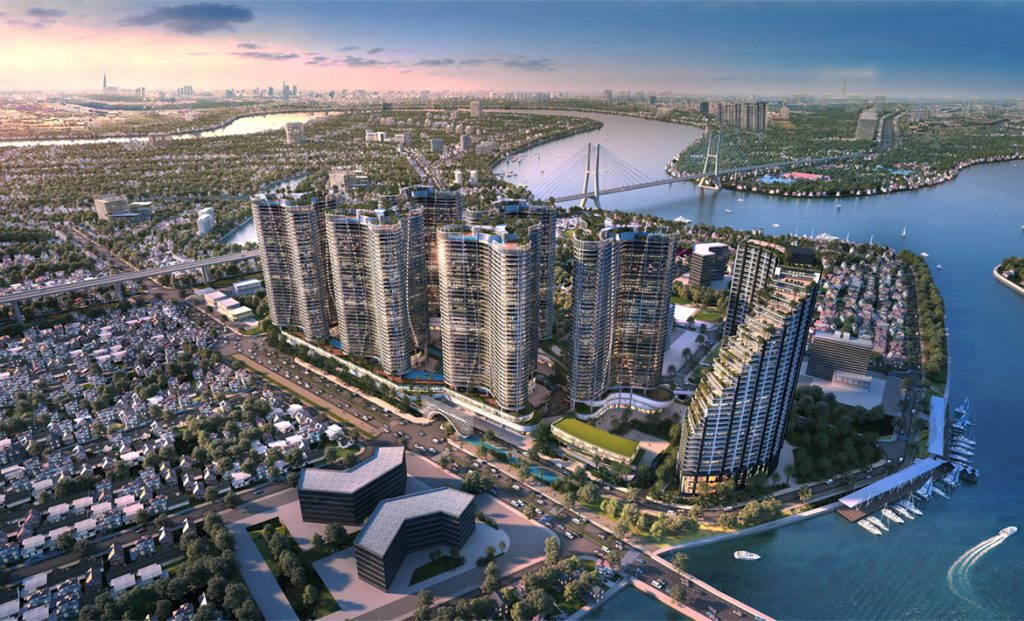 Infrastructure leverage creates a push for the real estate market in the South of HCM City to surpass the East