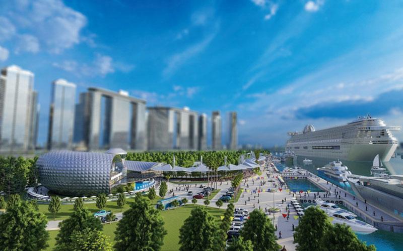 """""""Ăn theo"""" hàng loạt dự án hạ tầng lớn, giá nhà đất khu Nam Sài Gòn liên tục tăng mạnh"""