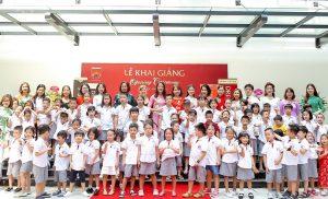 Ấn tượng lễ khai giảng tại trường tiểu học hiện đại bậc nhất Thủ đô Sunshine Maple Bear