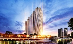 """Green life, classy life"" in special Babylon tower in Sunshine Group's USD 1,2 billion project"